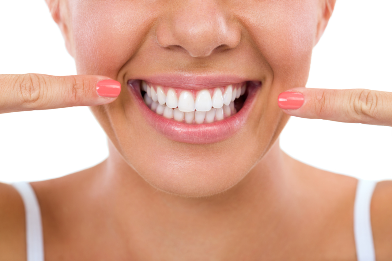 Naturally straight teeth-most people lack them