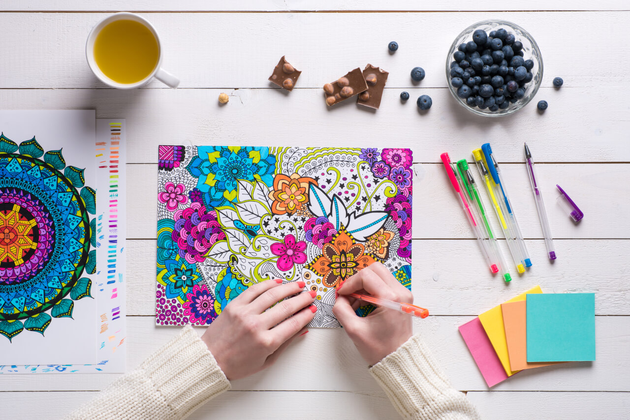 Surpass Stress With Anti Stress Coloring Book